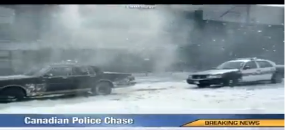 Canadian police chase ©MIDAS